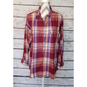 NWT Old Navy Long Sleeve Flannel Shirt Size 1X